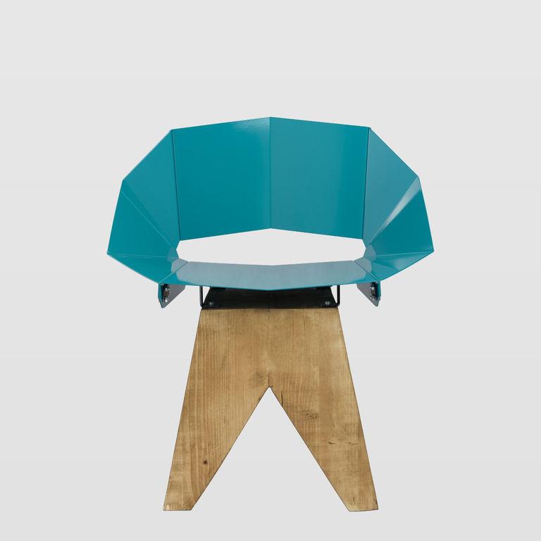 deep green chair FST0314