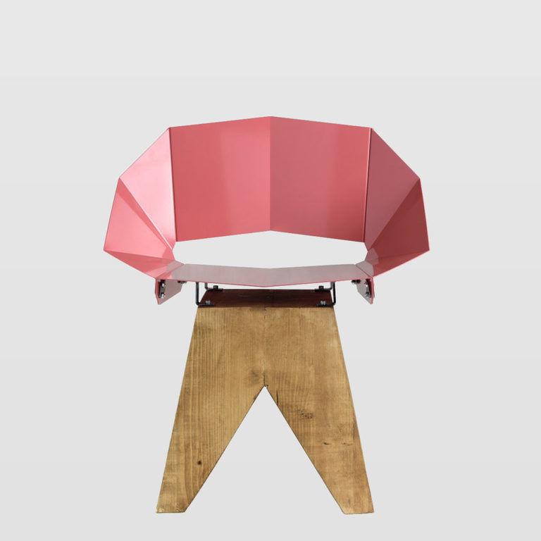 pink chair FST0315
