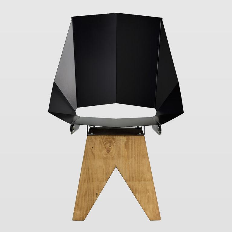steel black chair FST0320