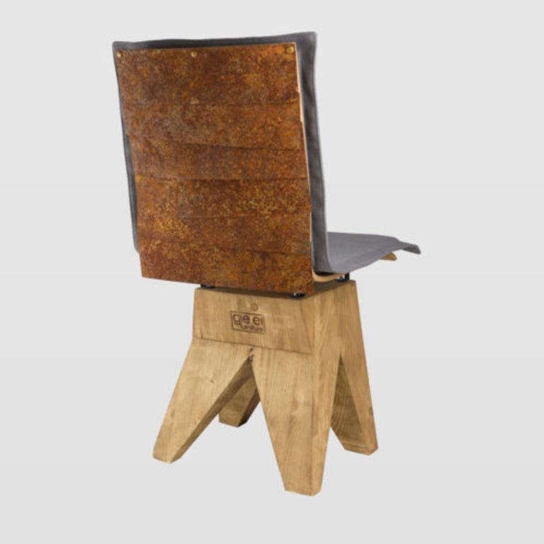 Rust chair FST0330