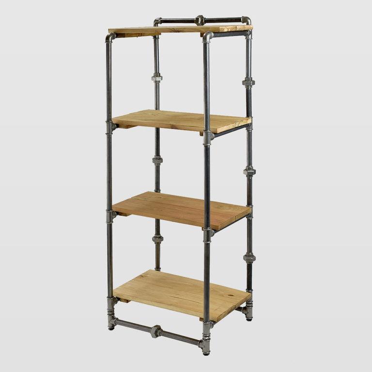 Steel bookcase FUR0042