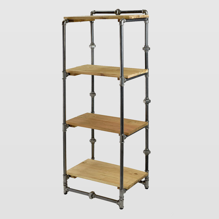 Steel bookcase FUR0042