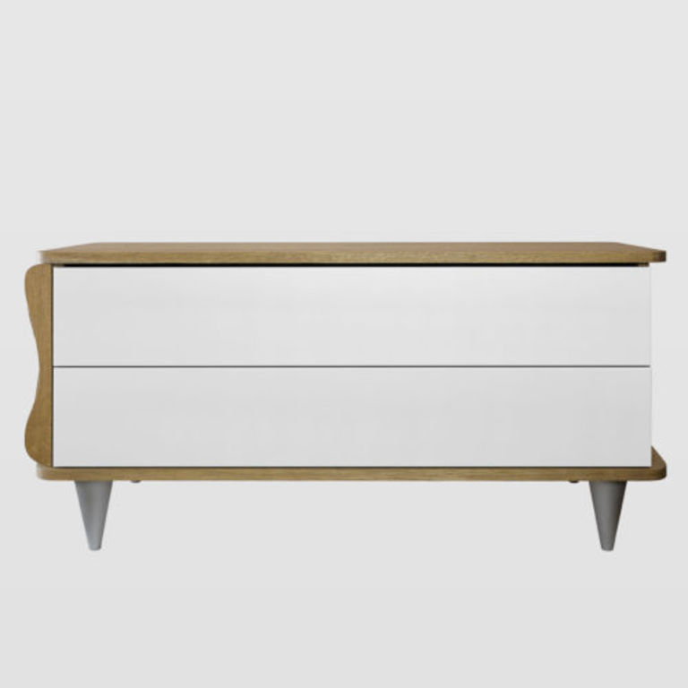 white chest of drawers FUR0080