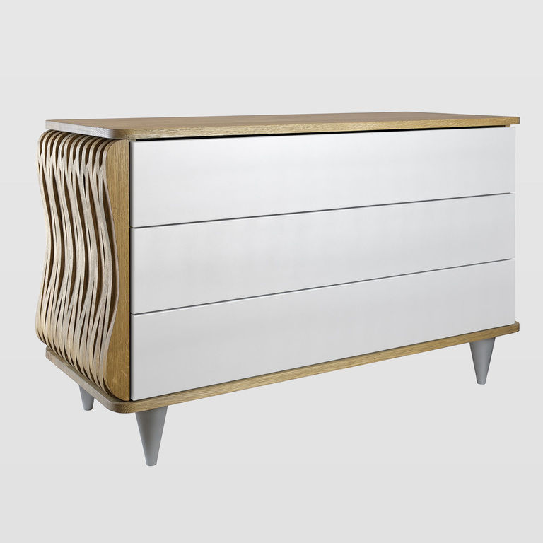 white chest of drawers FUR0090