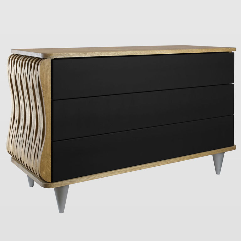 modern wooden chest of drawers FUR0092