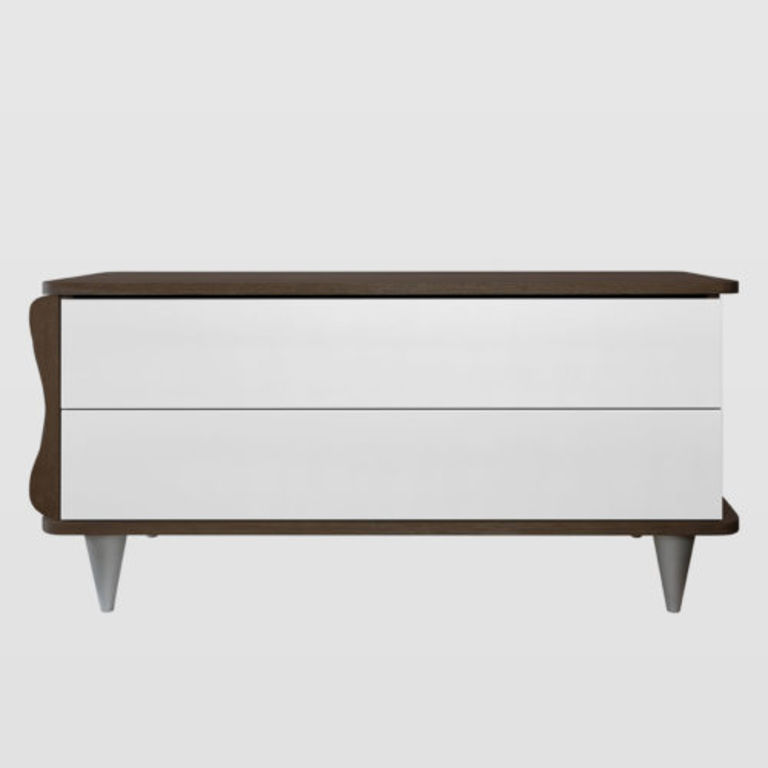 Chest of drawers with a wooden top FUR0100
