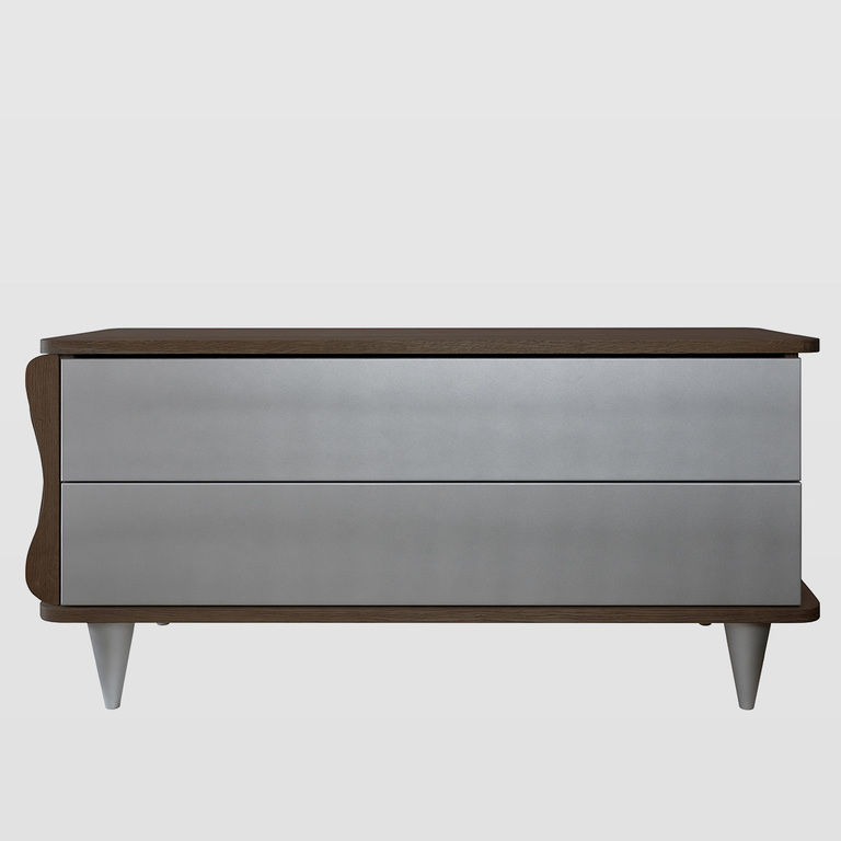 Low chest of drawers for bedroom FUR0101