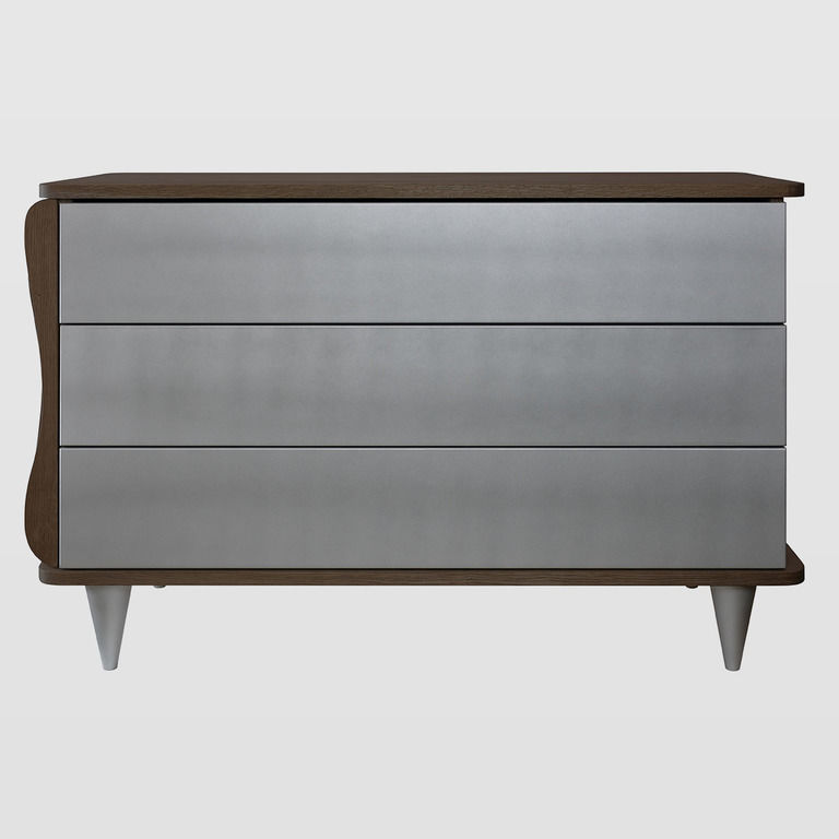 wooden chest of drawers on legs FUR0111