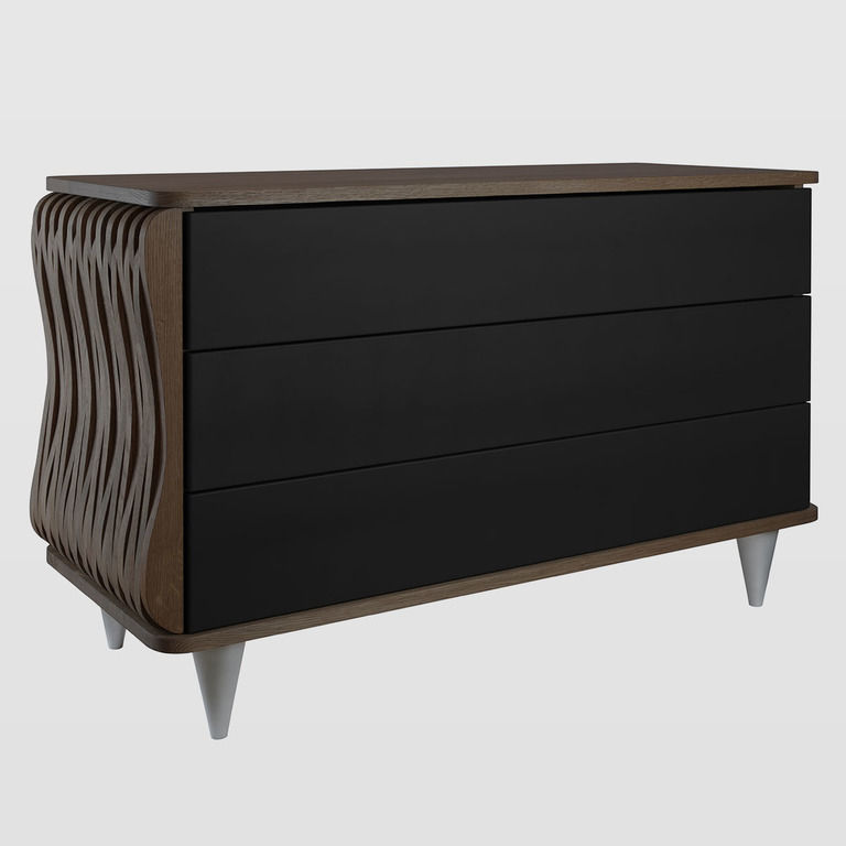 Wooden chest of drawers FUR0112