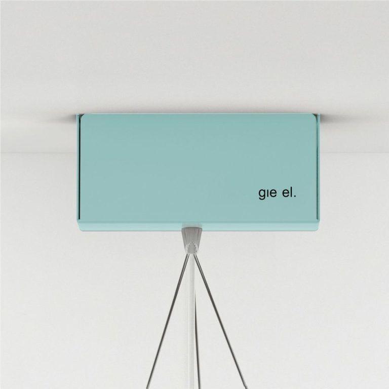 Lampa wisząca stalowa STAR big - Gie El