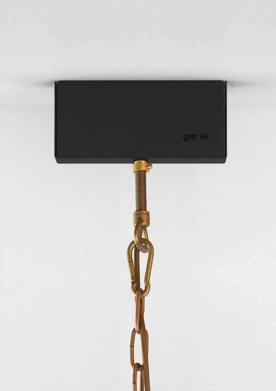 Lampa wisząca drewniana SHINGLE LGH0246 - Gie El