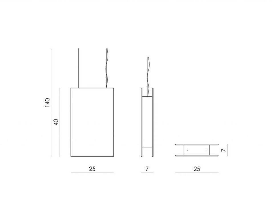 Lampa wisząca PLATE II LGH0600 - Gie El