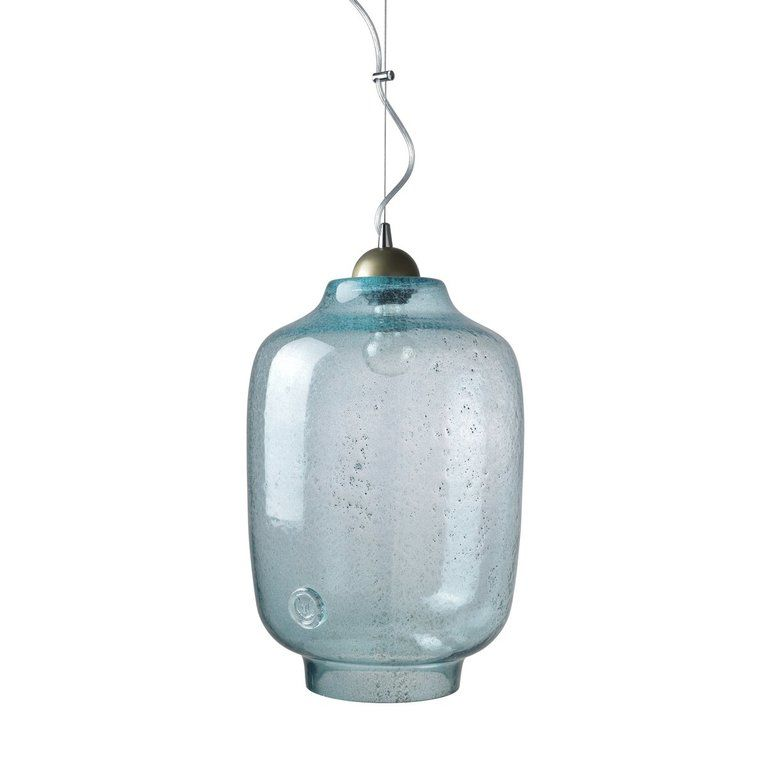 Glass pendant lamp BEE LGH0101 turquoise » Gie El
