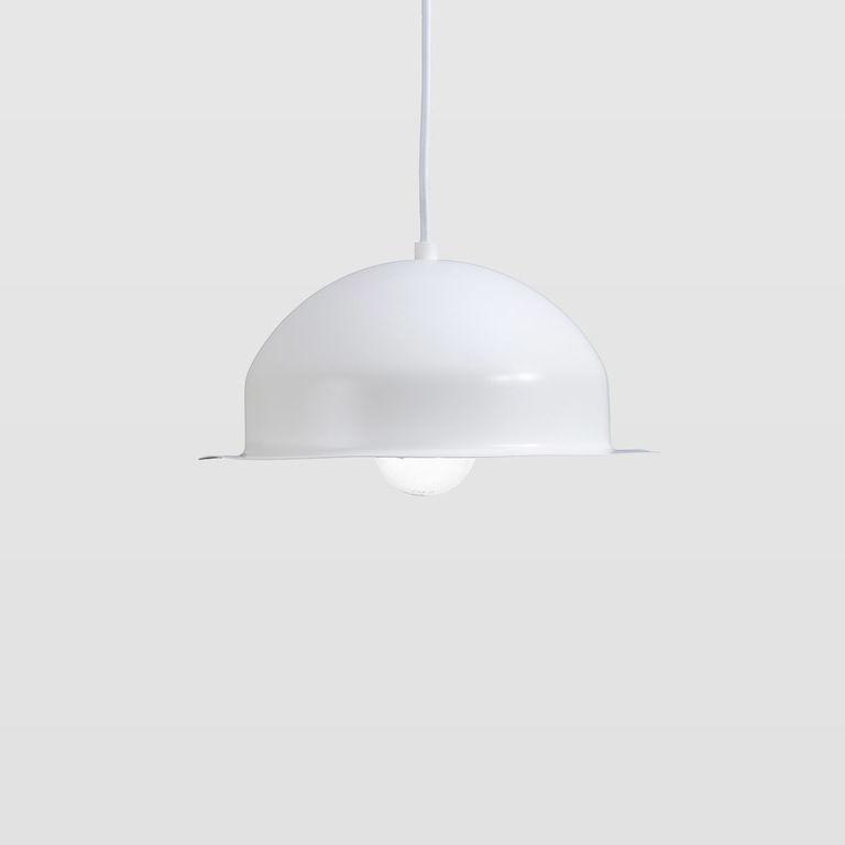 Lampa wisząca stalowa HAT czarna LGH0143 - Gie El