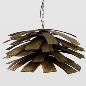 Lampa wisząca drewniana SHINGLE LGH0240 - Gie El