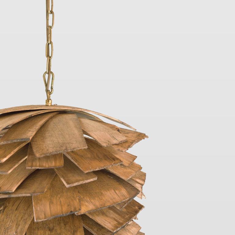 wooden pendant lamp LGH0246