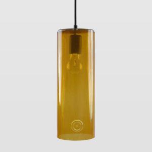Lampa wisząca szklana NEO III miodowa LGH0400 - Gie El