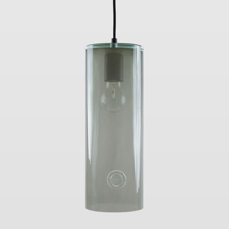 Lampa wisząca szklana NEO III szara LGH0403 - Gie El
