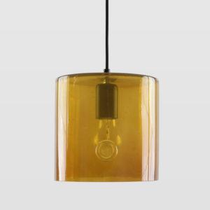 Lampa wisząca szklana NEO I miodowa LGH0420 - Gie El