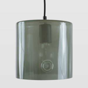 Lampa wisząca szklana NEO I szara LGH0423 - Gie El