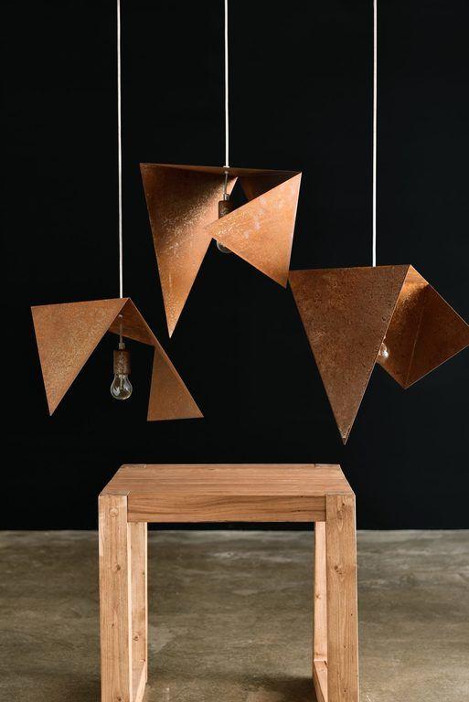 Rusty lamp LGH0550 LGH0551