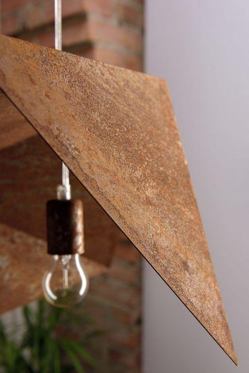 Details in RUST BIRD pendant lamp