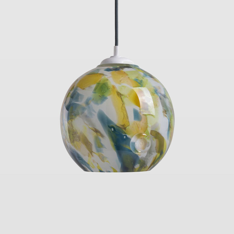 Glass ball pendant lamp LGH0571