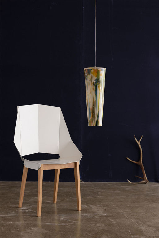 Lamp with lampshade LGH0573