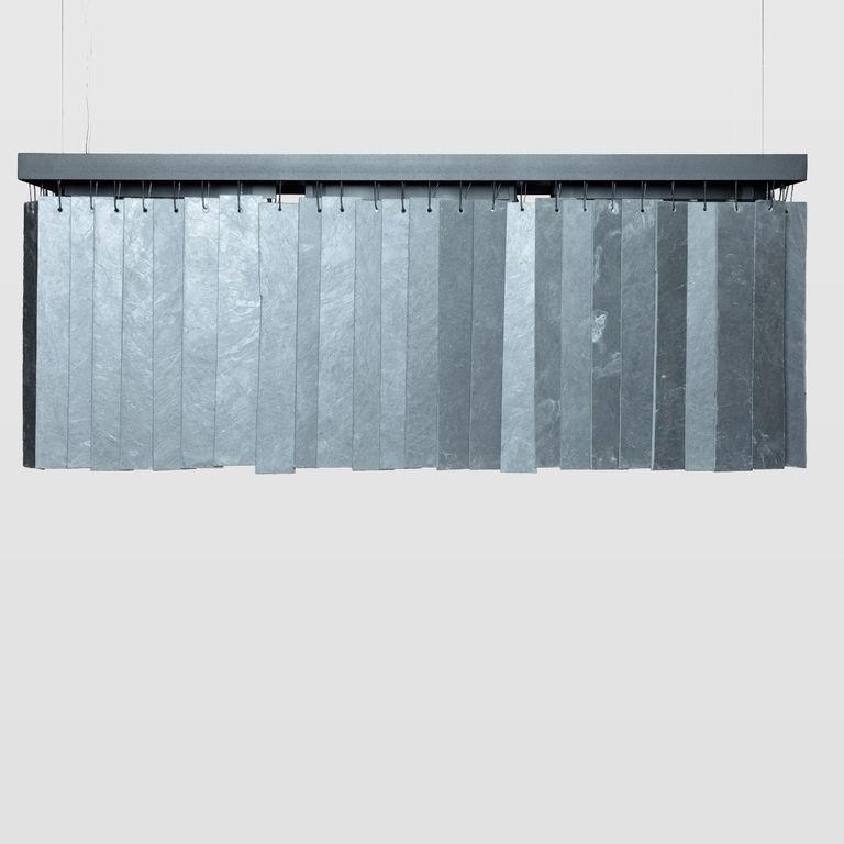 long pendant lamp RAIN big slate graphite LGH0604 » Gie El