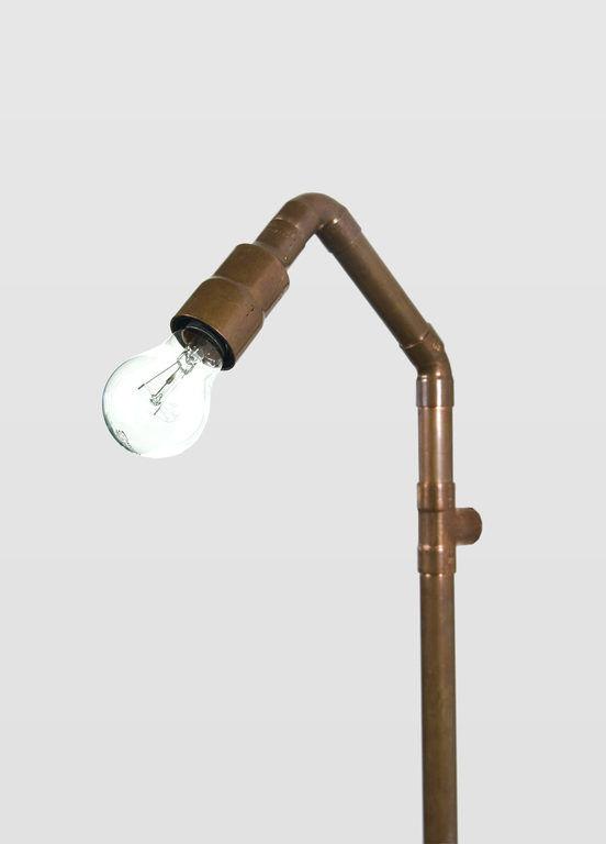 Lampa ścienna miedziana z rurek WAND LGH0271 - Gie El