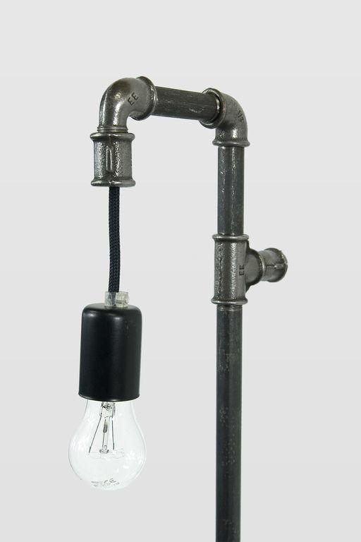 Lampa ścienna stalowa WAND z rurek czarna LGH0281 - Gie El