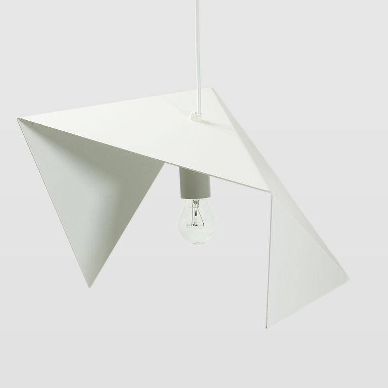 Lampa wisząca stalowa BIRD II biała LGH0311 - Gie El