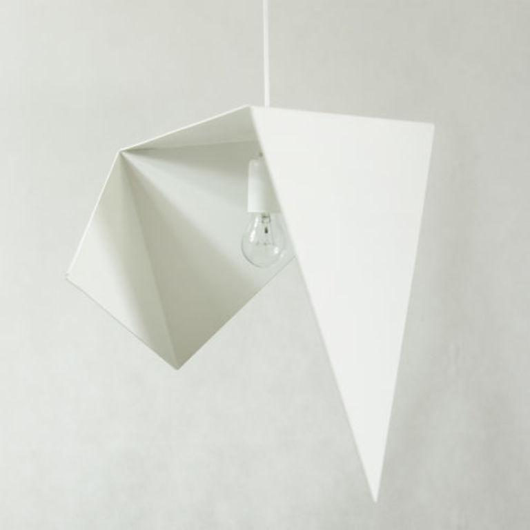 Lampa wisząca stalowa BIRD I biała LGH0321 - Gie El