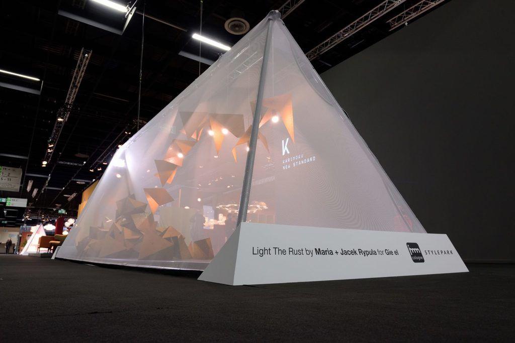 Instalacja Light the Rust - Gie El