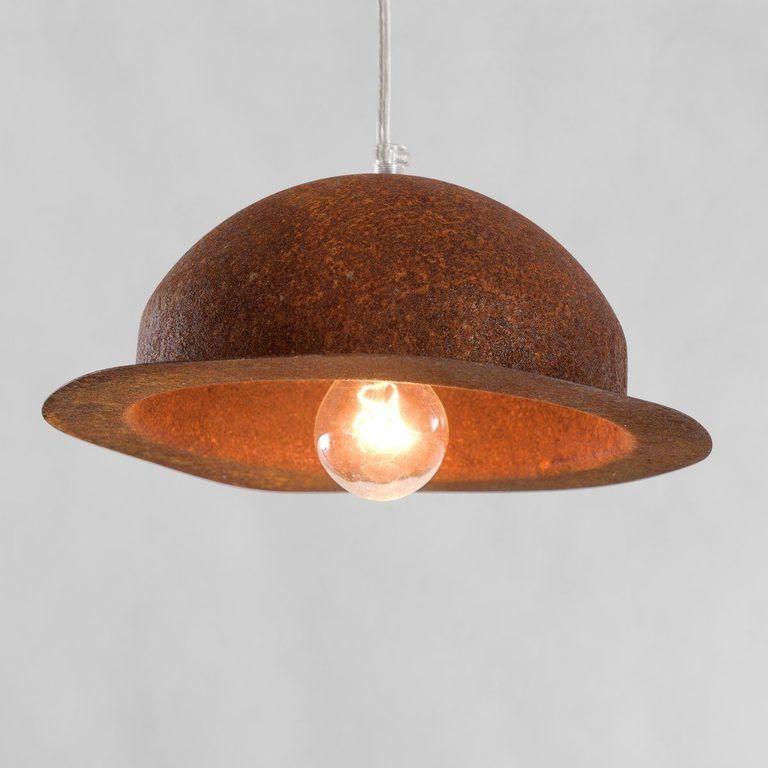 Lampa wisząca HAT rdzawa LGH0145 - Gie El