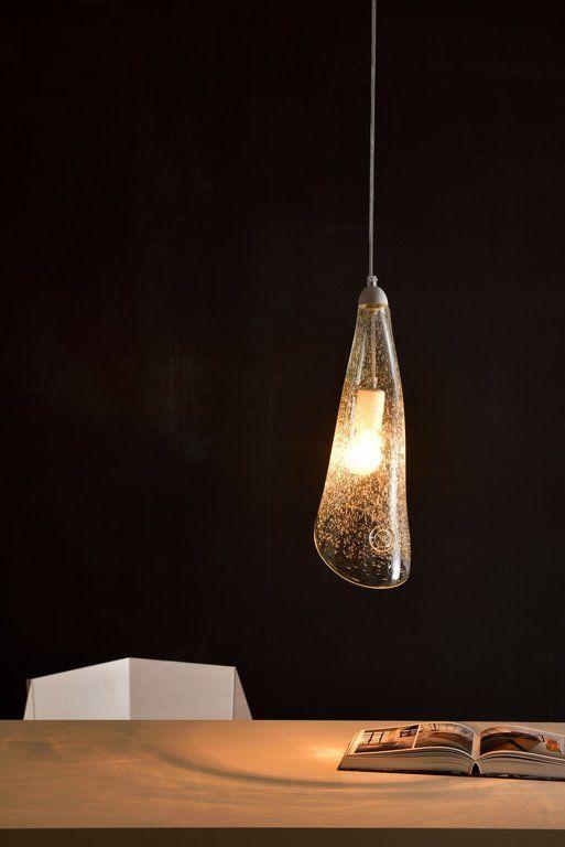 Lampa wisząca HORN BUBBLE bezbarwna LGH0266 - Gie El