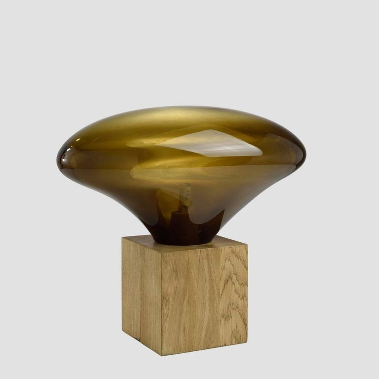 Lampa stołowa COCOON oliwkowa LGH0612 - Gie El