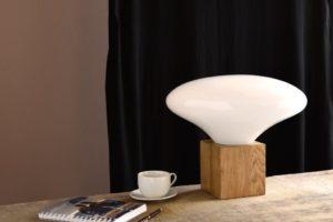 Lampa stołowa COCOON biała LGH0614 - Gie El