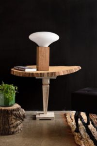 Lampa stołowa COCOON BIG biała LGH0615 - Gie El