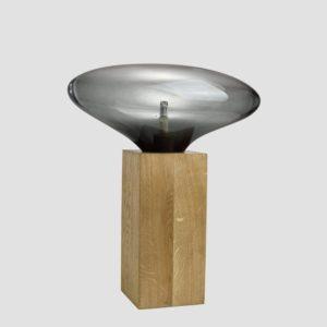 Lampa stołowa COCOON BIG szara LGH0617 - Gie El