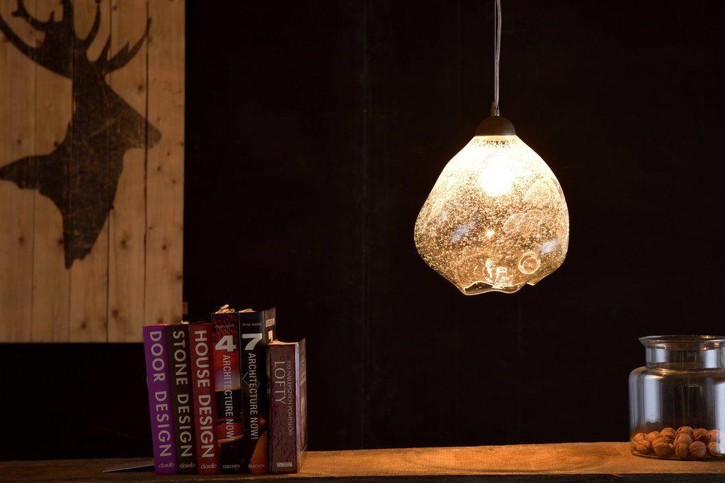 Lampa wisząca BUBBLE transparentna LGH0620 - Gie El