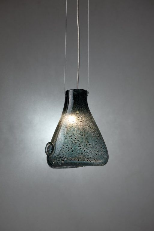 Lampa wisząca DROP turkusowa LGH0630 - Gie El