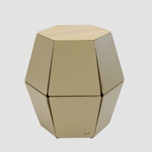 Stolik pomocniczy HEXA I szampański FCT0320 / FCT0323 - Gie El
