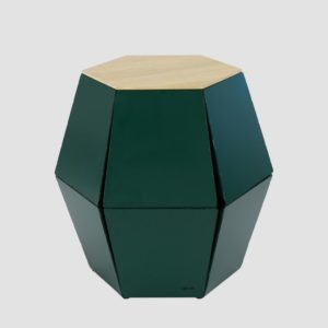 Stolik pomocniczy HEXA II szampański FCT0330 / FCT0333
