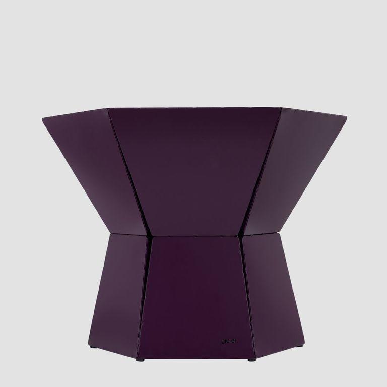 Stolik kawowy HEXA III śliwkowy FCT0342 / FCT0345 - Gie El