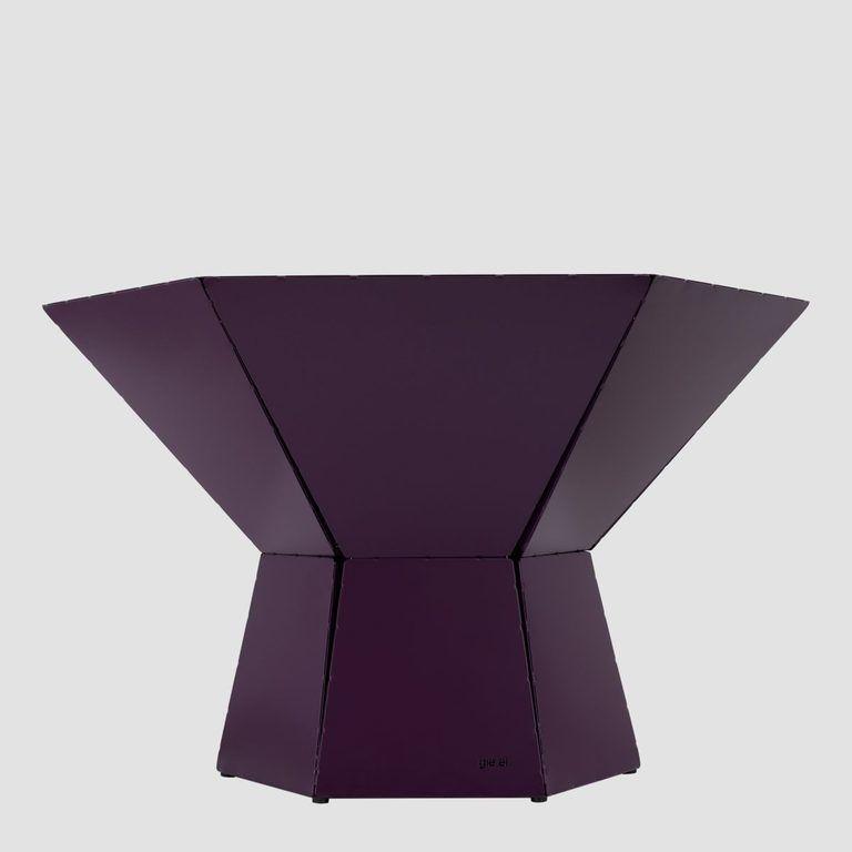 Stolik kawowy HEXA IV śliwkowy FCT0352 / FCT0355 - Gie El