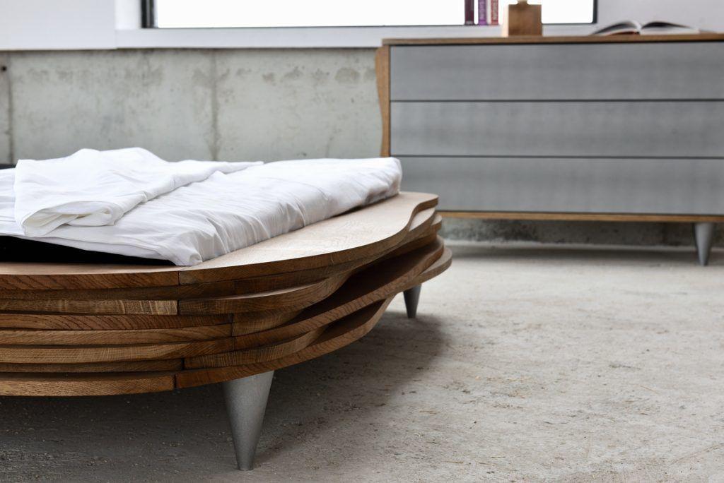 Gie El łóżka do sypialni łóżko ORGANIQUE bed bedroom - Gie El