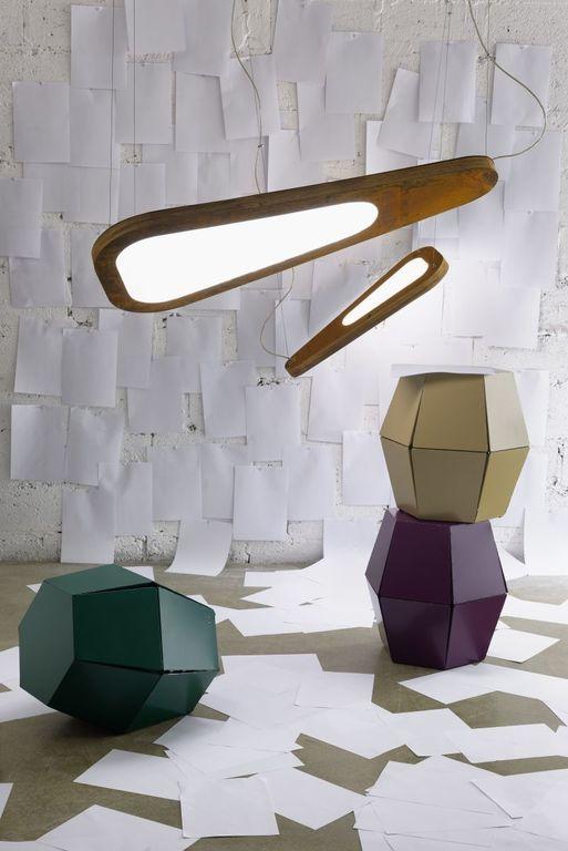 Lampa wisząca AVOCADO rdzawa LGH0652 / LGH0662 - Gie El