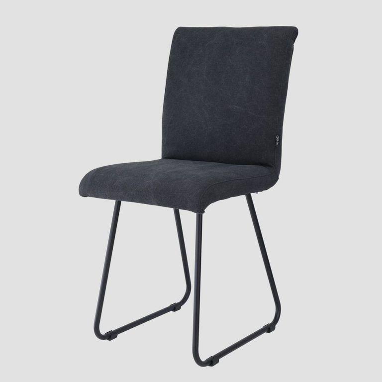 Krzesło na płozach NERO czarny FST0214 - Gie El