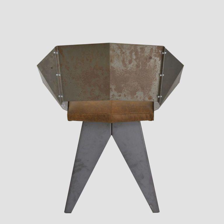Stalowe krzesło KNIGHT FST0399 - Gie El